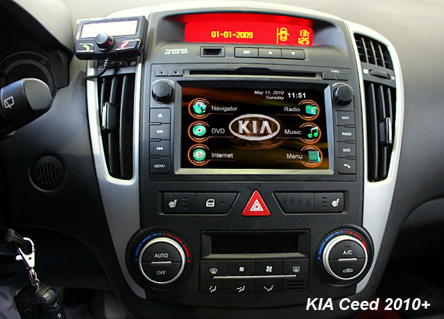 Venga Gps On Pro Cee D Kia Forum